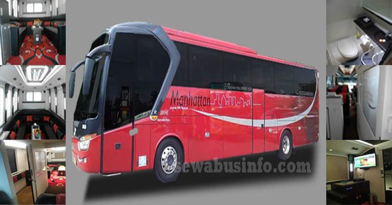 Bus pariwisata premium