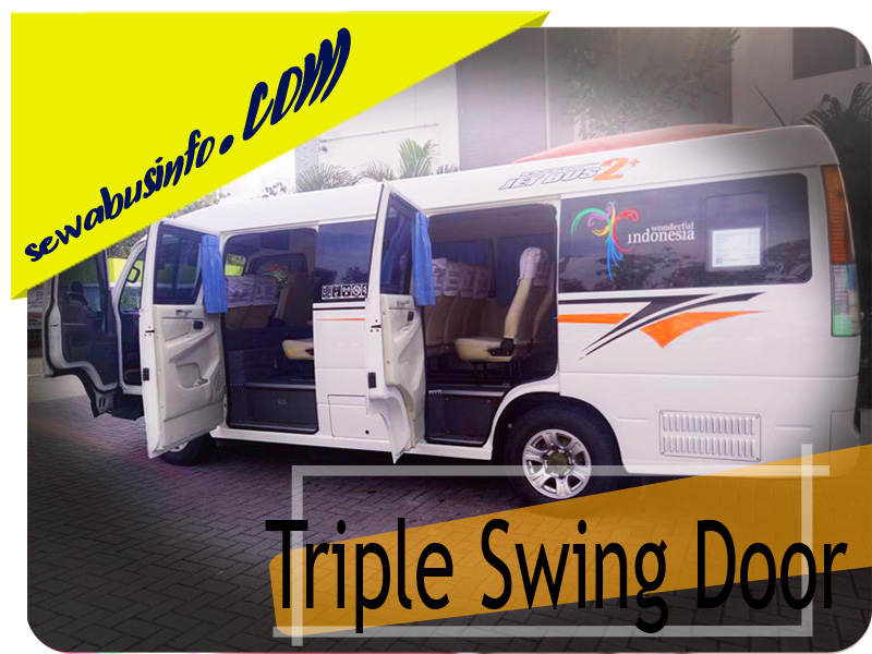 triple swing door