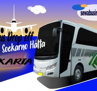 sewa bus drop off bandara